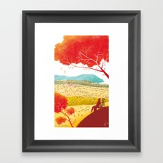 Illustre Conero - the meaning of life Framed Art Print