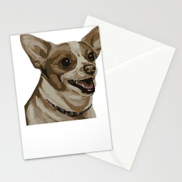 Most Wanted Chihuahua Animal Portrait T-shirt Stationery Cards