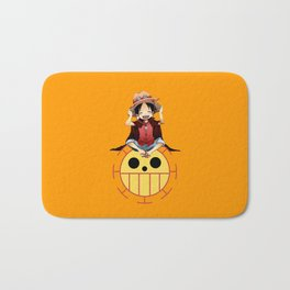 luffy haki Bath Mat