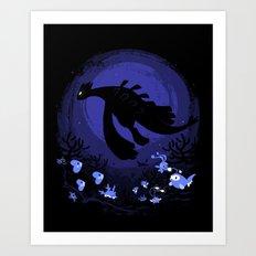 Sea Guardian Art Print