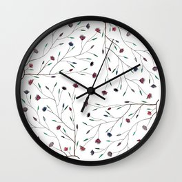 Vine Pattern Wall Clock