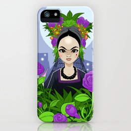 El Negro Llorona iPhone Case