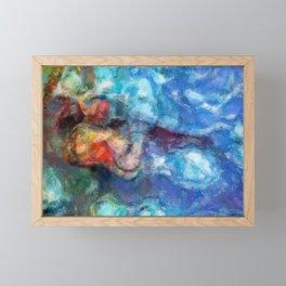Desire of Lipstrocks Framed Mini Art Print