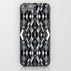 Art Deco Blue iPhone 6s Slim Case