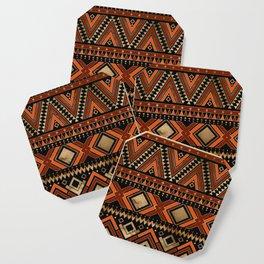 Aztec Ethnic Pattern Art N7 Coaster
