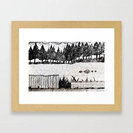 L01 Framed Art Print