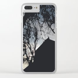 Chicago Sundown  Clear iPhone Case