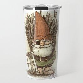 Gnome Woodcutter Travel Mug