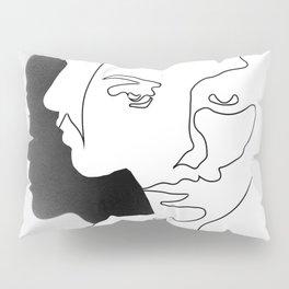 Portrait (Line Drawing ) Pillow Sham