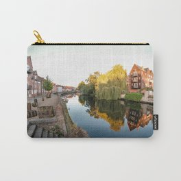 The historical Quayside along the River Wensum, Norwich Carry-All Pouch