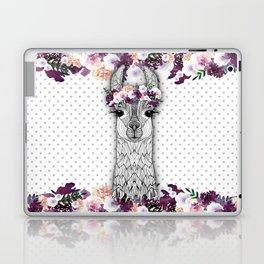 FLOWER GIRL ALPACA Laptop & iPad Skin