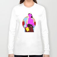 picasso Long Sleeve T-shirts featuring Picasso Woman by Marko Köppe