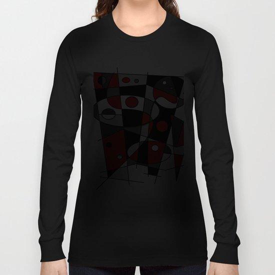 Abstract #42 Long Sleeve T-shirt