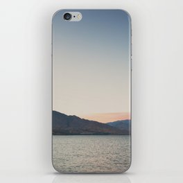 sunset over the lake ... iPhone Skin