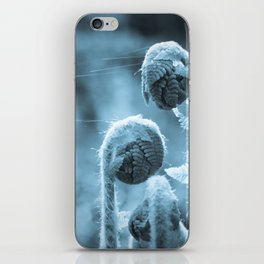 Curl up next to me iPhone Skin