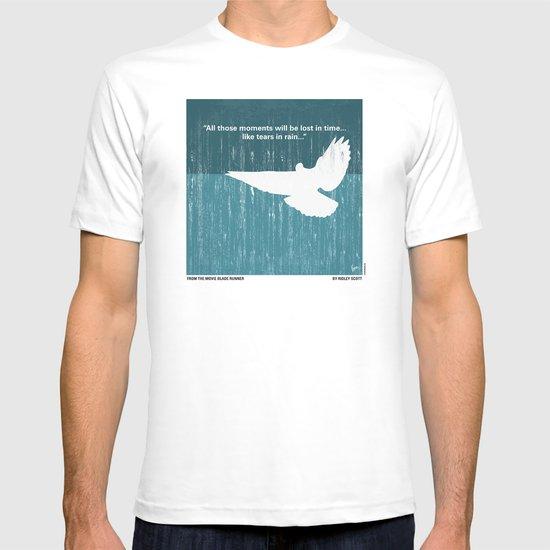 No011 My Blade Runner minimal movie poster T-shirt