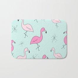 Flamingo Star Bath Mat