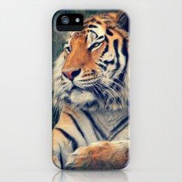 Tiger No 3 iPhone Case