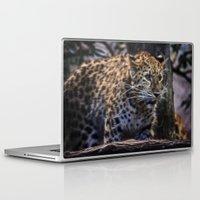jaguar Laptop & iPad Skins featuring Jaguar  by Veronika