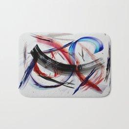 Acryl-Abstrakt 33 Bath Mat