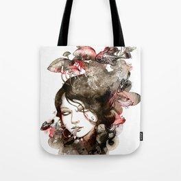 Metamorphosis of a fading memory Tote Bag