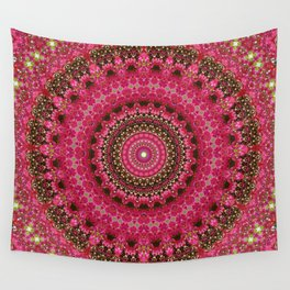 Pink Flower in Greece 2 Wall Tapestry