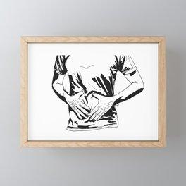 Hunger Framed Mini Art Print
