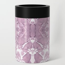 Shibori Rose Crepe De Chine Can Cooler