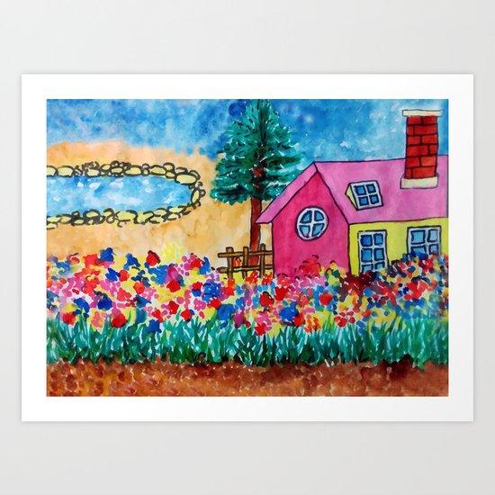 Magical Home Art Print