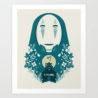 spirited away Art Prints featuring Spirited by Duke Dastardly