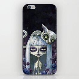 Felina de los muertos iPhone Skin