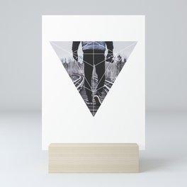 Photographic Path - Geometric Photography Mini Art Print