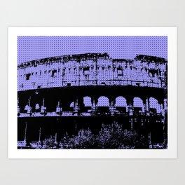 Pop Coliseum Art Print