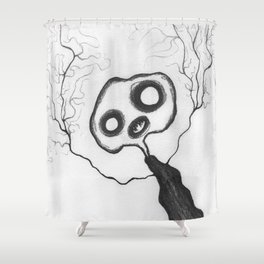 Spindly Shower Curtain