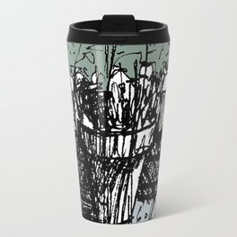 Pond Plants in Colour Travel Mug