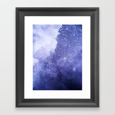 Ice Mountain Framed Art Print