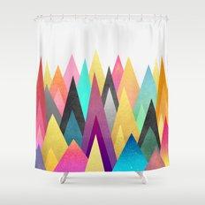 Dreamy Peaks Shower Curtain