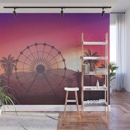 Festival Inspired Sunset Wall Mural