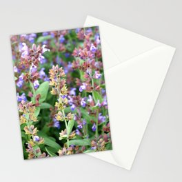 A riot of blooms Stationery Cards