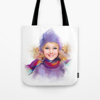 sport Tote Bags featuring sport by tatiana-teni