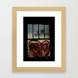 Detroit Love Framed Art Print