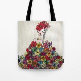 FLOWERFOOL Tote Bag