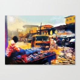 Hustle Canvas Print