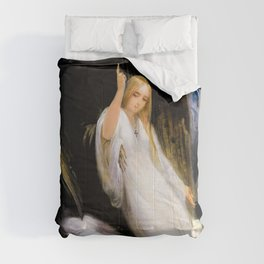 Horace Vernet - Study Of The Angel Of Death - Digital Remastered Edition Comforters