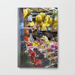 Frit Bazaar Metal Print