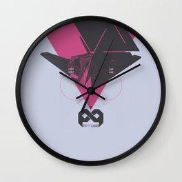 STEALTH:F117 Nighthawk Wall Clock