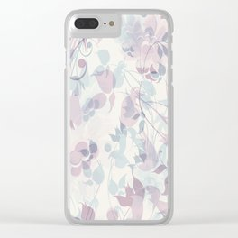 Abstract 203 Clear iPhone Case