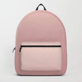FREAK HEAT - Minimal Plain Soft Mood Color Blend Prints Backpack
