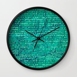 code_forest Wall Clock