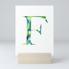 Letterforms F : Frankie Mini Art Print